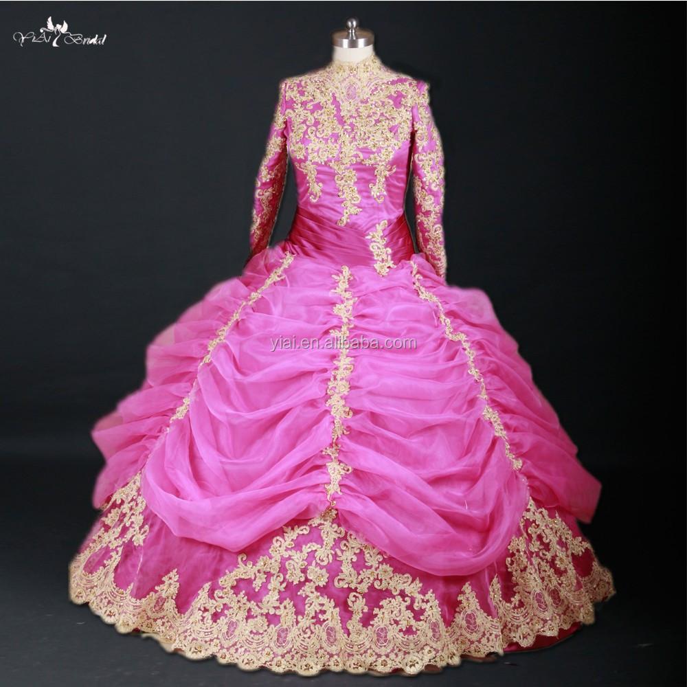 Catálogo de fabricantes de Cordón Hijab Musulmán Vestido De Novia de ...