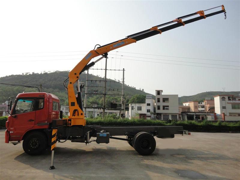 18 ton truck crane 360 knm crane truck model no sq360zb4 new condtion 18
