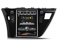 Best android car dvd player gps navigation for Toyota Corolla 2014-2016 Vertical screen 12.4inch