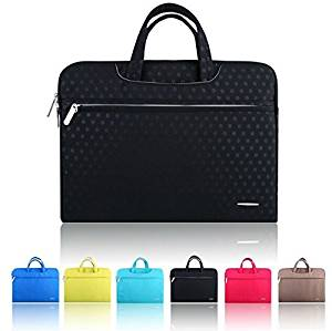 """Sourcingbay 15 inch Computer Bag Sleeve Carry Case Cover Notebook Tablet Briefcase Handbag With Handle For Apple Macbook Air 15 """" And Other Laptop / Notebook Computer / MacBook / MacBook Pro Case Briefcase Bag Pouch Sleeve waterproof Black"""