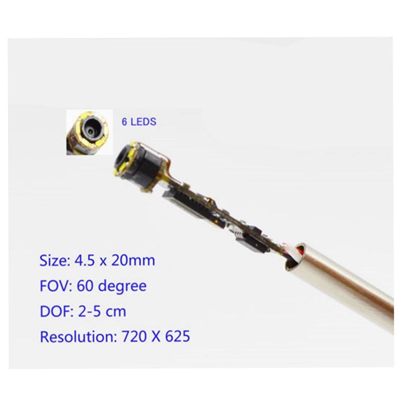 Endoscope 5M 7mm 6LED USB Waterproof  Borescope Video Camera *VENDEUR FRANCAIS
