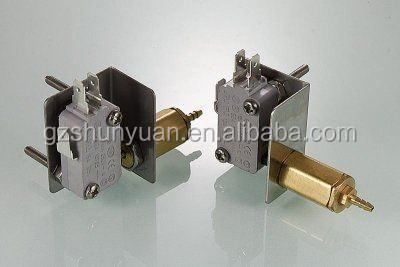 Dental chair accessories air-electrical valve