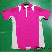 100% Polyester womens golf polo shirt High Quality custom polo Dry Fit Running Shirt