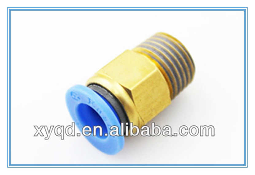 Spc thread pipe fittings quick connect air pu