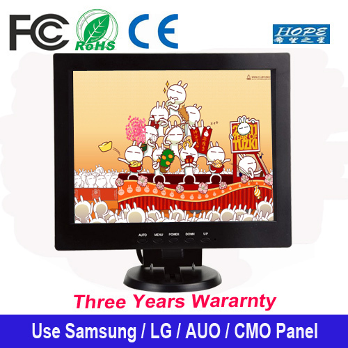 High resolution LED backlight 12 inch hdmi input lcd monitor