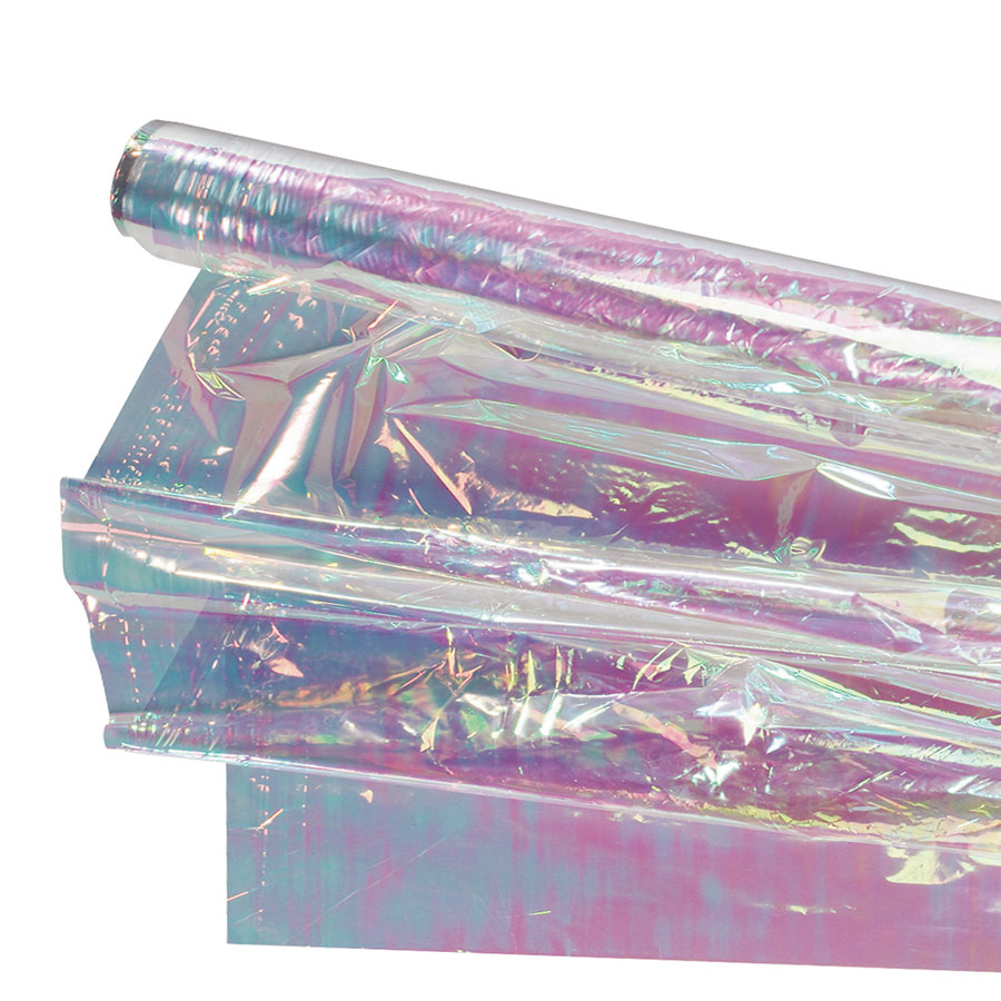 Jr-1875-02 18micron Red Transparency Dichroic Rainbow Film