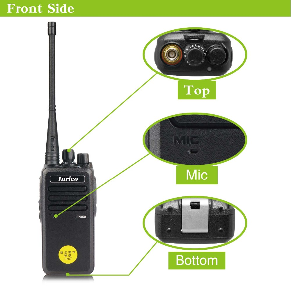 2016 inrico popular waterproof two way radio