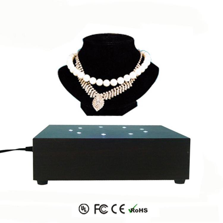 Magnetic Levitation custom Diamond Woman Necklace  Jewelry Display