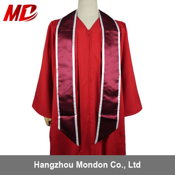 Graduation Gown Accessories Stole Hood And Cord - Buy Graduation ...