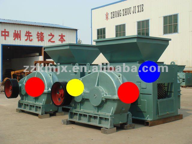 Hydraulic press machine to making coal briquette