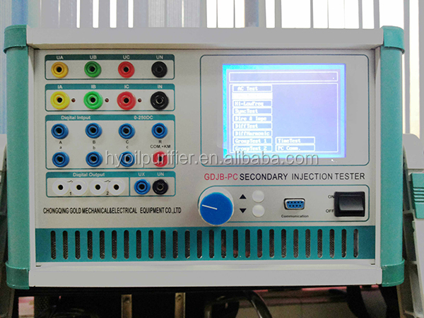 Electrical Protection Relay Test KitThree Phase Relay Test Kit