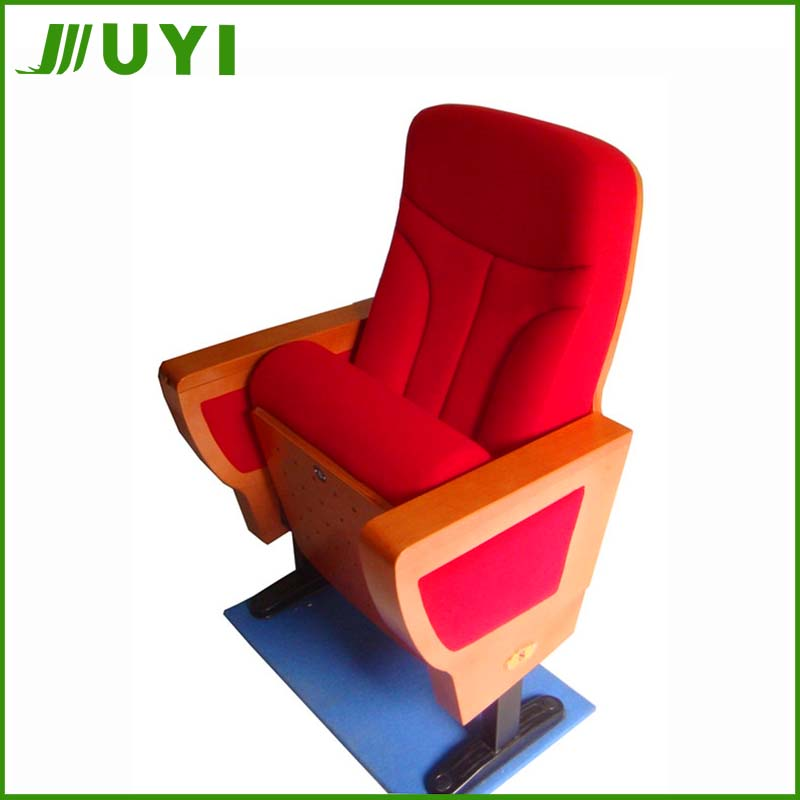 JY-999M New Arrival China VIP Wholesale Wood Folding Auditorium standard seat size Theater chair Cinema Chairs