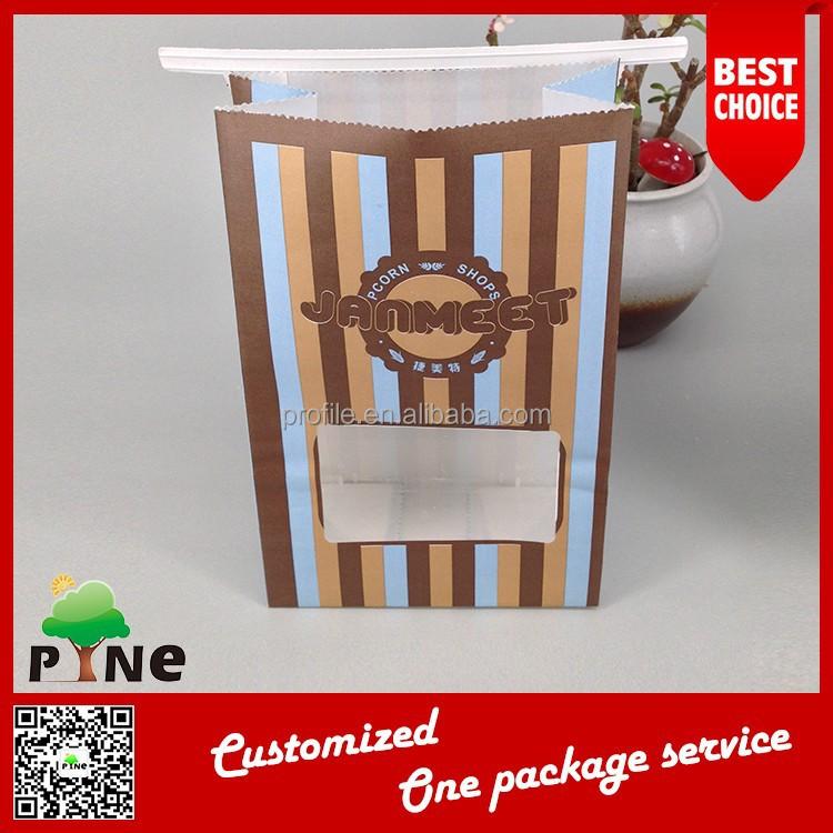 Papier sac fermeture zip pour la nourriture avec fen tre for Zip pour fenetre