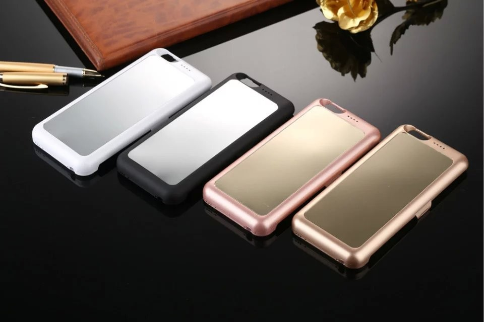 Latest product power bank external battery charger cover battery case for iphone 6 4.7""