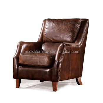 Newly Design Single Leather Sofa Chair Vintage Furniture - Buy Vintage  Furniture,Sofa Chair,Single Sofa Chair Product on Alibaba.com