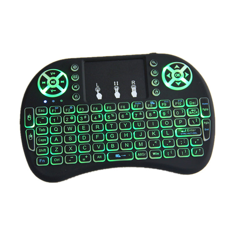 most popular air mouse keyboard products wholesale android smart tv set top box 2.4ghz wireless