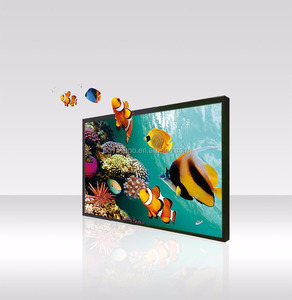 4k HD 65 inch all in one LCD display with 3D wayfinding system solution
