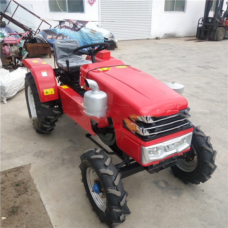 Multifunctional four Wheel newest  small mini farm tractor 15HP
