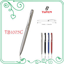 Yuyao factory sale business gift thin pen TB1075C