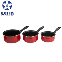 Fashion Merah Non-Stick Seri Enamel <span class=keywords><strong>Panci</strong></span> Set