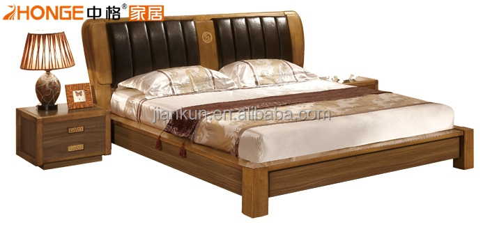 Home Bed Room Furniture Wooden Single Box Bed Designs