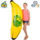 Inflatable fruit water toy ride on banana shaped pool float
