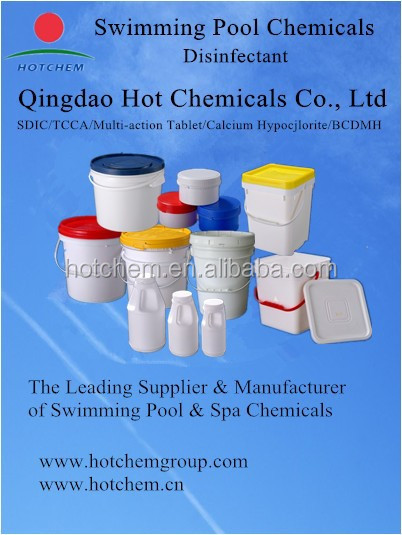 Water Treatment Chemicals Swimming Pool Chlorine Tablets