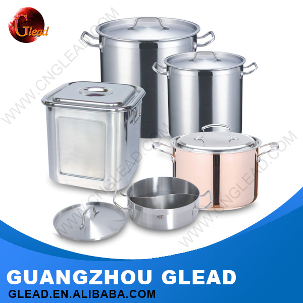 High quality 201/304 S/S Stainless steel stainless steel cookware