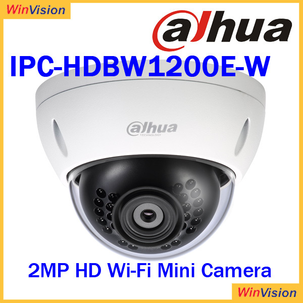 Dahua 2MP Full HD Wi-Fi IR Mini Dome fixed lens Camera iPC-HDBW1200E-W