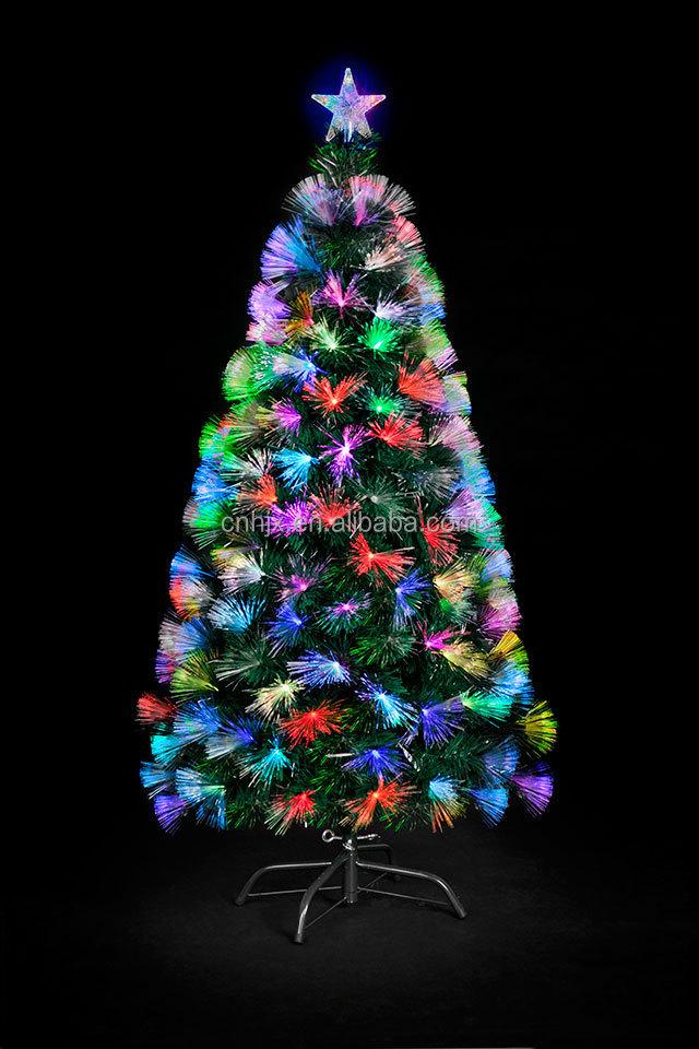 Artifical Glasvezel Verlichting Kerstboom,Top Ster Decoratie ...