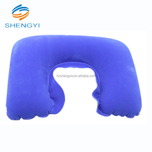 Inflatable fashion disposable folding neck covers child travel bath bed pillows