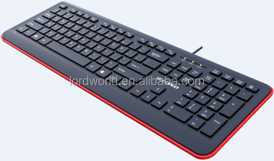 Shenzhen Factory oem multiple color for option compact ergonomic wireless keyboard