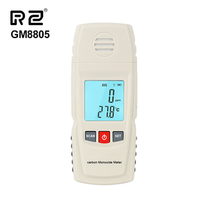 Potable Carbon Monoxide Meter RZ8805 Digital CO Gas Meter