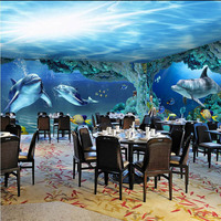 3D wallpaper of the world's undersea wallpaper is custom-made for the deep-sea floor world