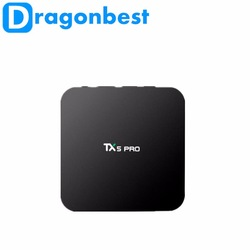 Android 9.0 os A5X MAX RK3328 4G 32G android tv box smart tv box set top box with KD player