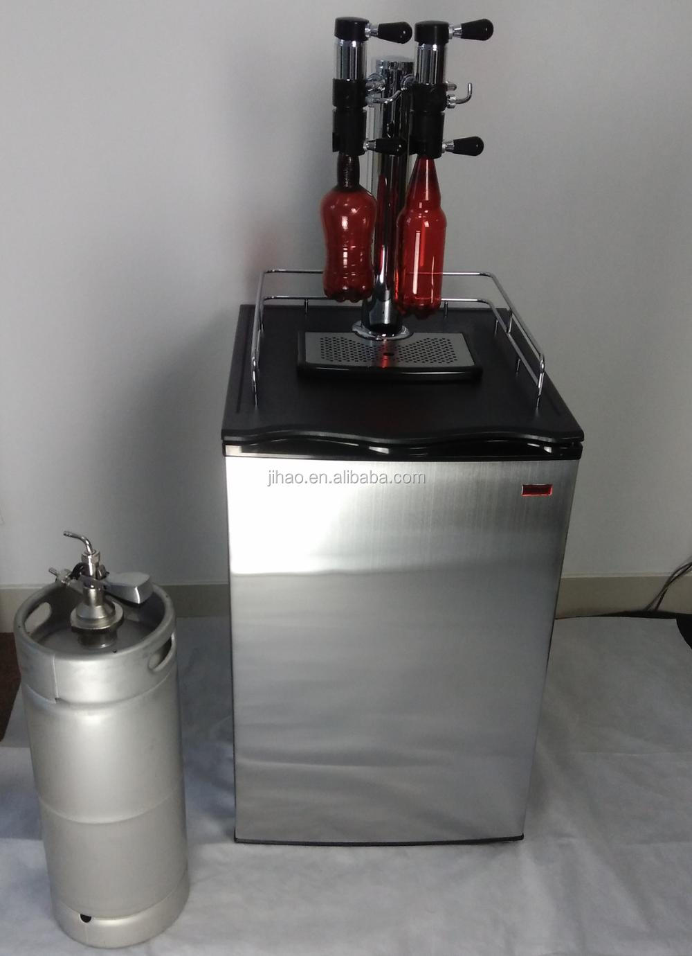 GHO Beer Keg Cooler with bottle filler taps