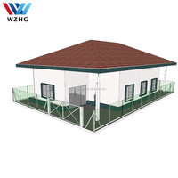 Steel Material and Villa,House,prefab house Use dubai luxury villas