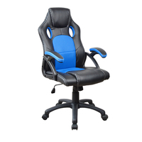 2018 racing style heated gamer computer gaming chair racing