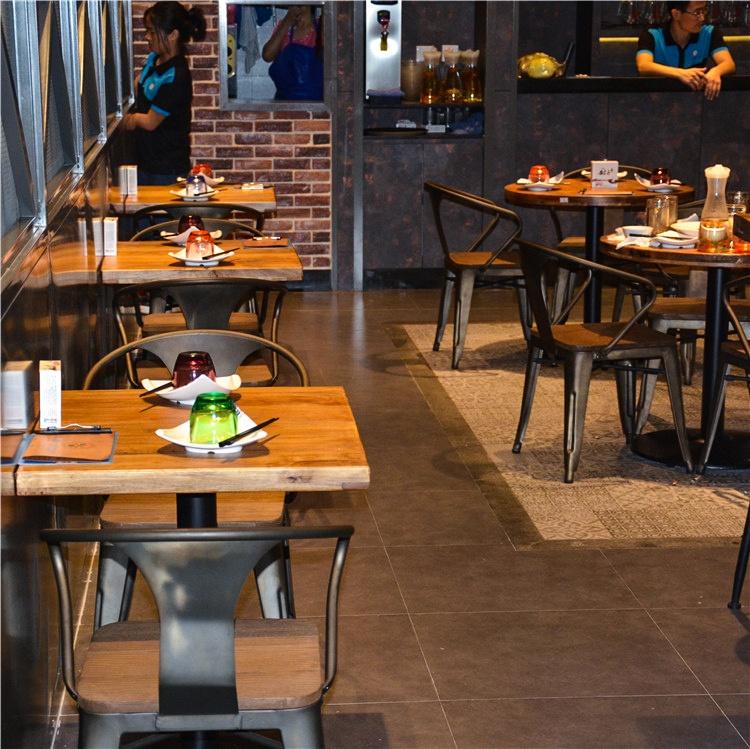 (SP-CS327) Industrial vintage rural style metal cafe chair used restaurant furniture