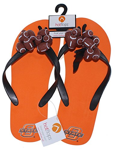 NEW Louisville Cardinals NCAA Ladies HotFlops Football Flip Flops Beach Sandal Shoes Adult Sizes