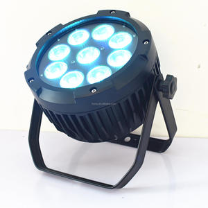 China professional powered battery Waterproof LED Wash Flat Par Can Uplight with competitive price