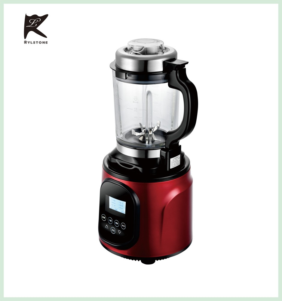 Multi-functional durable glass food processor