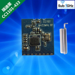 High quality 433MHz Wireless RF Serial UART Module CC1101 5V 3V AT Command New & Original