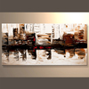 Newest Abstract Cityscape Design Oil painting Hand Painted