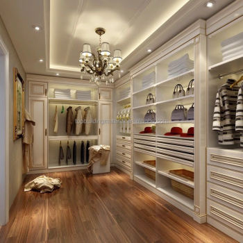Custom made italian bedroom closet