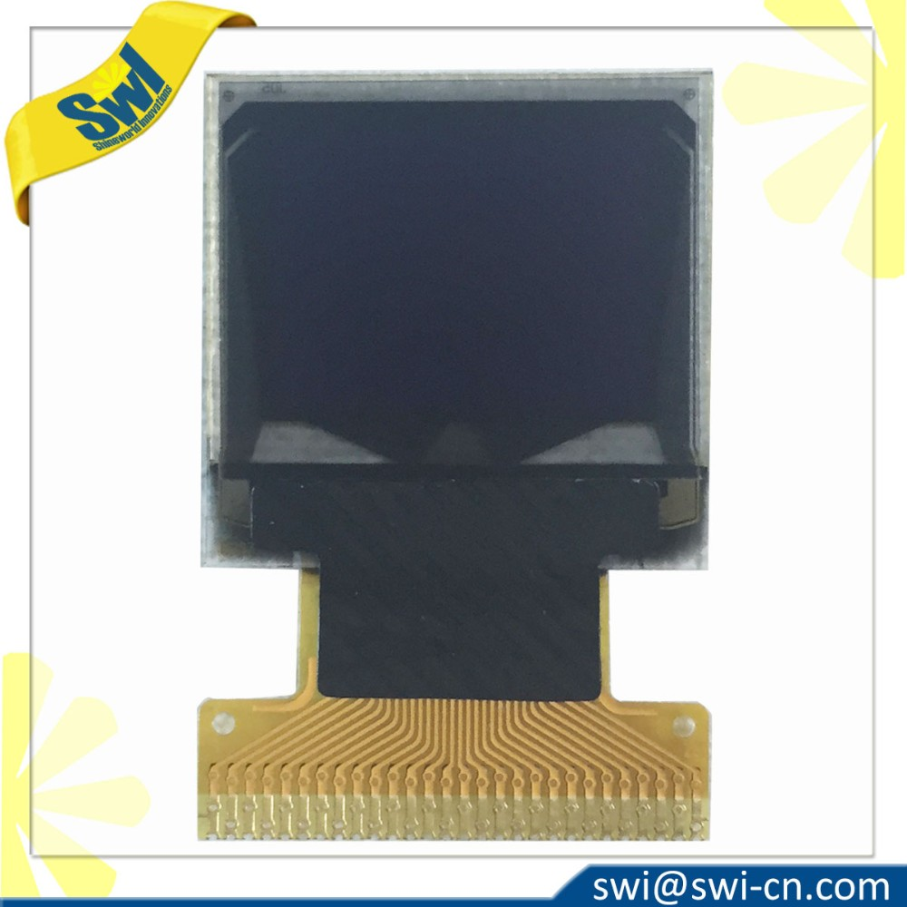 "0.6"" 64x64 OEM OLED Display Module for Wrist Watch"