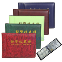 new 60 Coin Holders Collection Storage Money Penny Pockets coin Album Book Collecting scrapbooking album