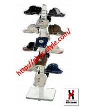 new reach sport cap display rack/steel cap&hat display/metal cap holder