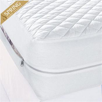 Zippered Encasement Waterproof Bed Bug Proof Mattress Cover