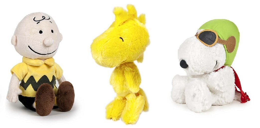 Buy Peanuts Set Of 3 Characters Plush Toys Charlie Brown 12